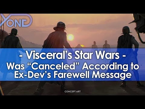 Ex-Dev Says Visceral's Star Wars Game was
