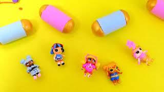 Slime LOL, Antistress, paper LOL Surprise, mini capsule LOL decoder, #Hairgoals, mini doll, DIY