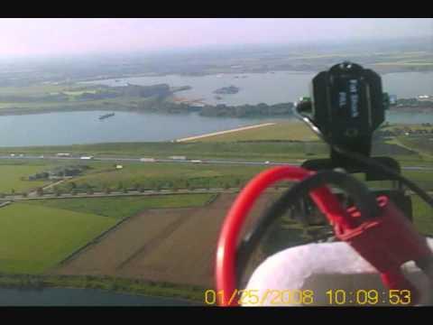 Beelden vanuit de lucht boven Cuijk - FPV vlucht