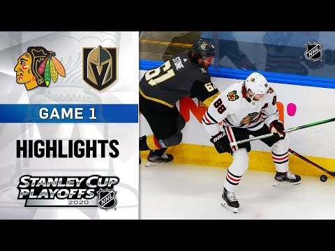 NHL Highlights | First Round, Gm1: Blackhawks @ Golden Knights – Aug. 11, 2020