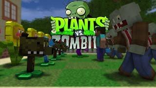 FNAF vs Mobs: Plants vs Zombies Challenge - Monster School (Five Nights At Freddy's)