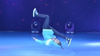 B-Girl V - 1st Place Breakdance Solo Kids / Dance Fest Novi Sad 2014 / AQUA
