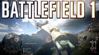 Battlefield 1: Six Plane Takedowns in One Game!
