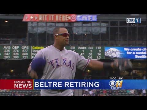 Rangers' Adrian Beltre Retiring