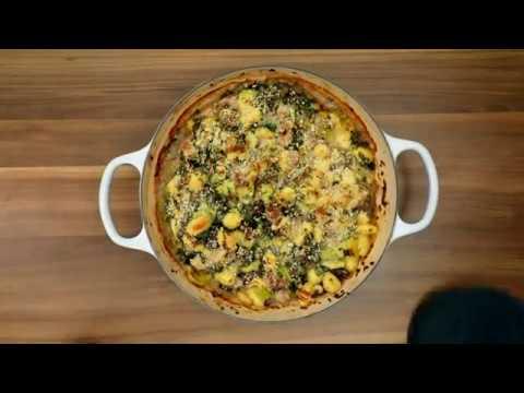 Pheasant & Leek Gnocchi Bake