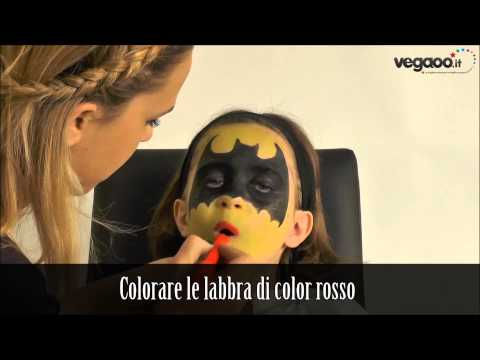 Tutorial trucco Batman / Batgirl