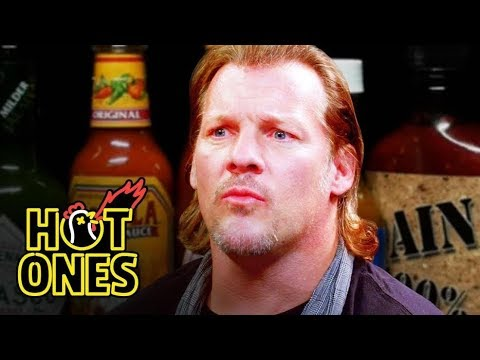 Chris Jericho Gets Body Slammed by Spicy Wings | Hot Ones