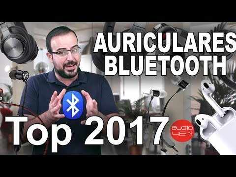Auriculares Bluetooth. Top 2017
