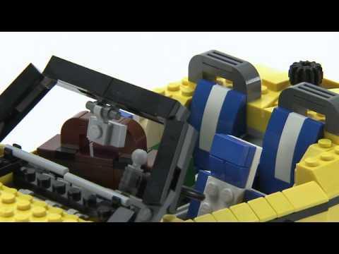 Vidéo LEGO Creator 5767 : Le cabriolet