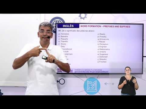 Aula 08 | Word Formation: Prefixes and Suffixes - Parte 03 de 03 - Exercícios Resolvidos - Inglês