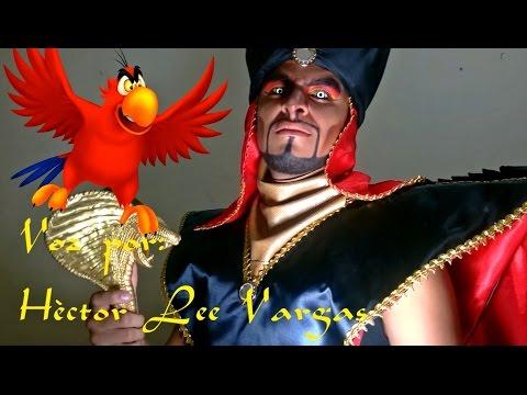 Caracterización- Maquillaje de Jafar de Aladdin