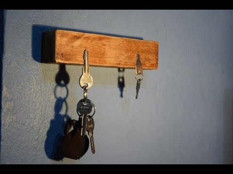 How To Make A Simple Key Holder
