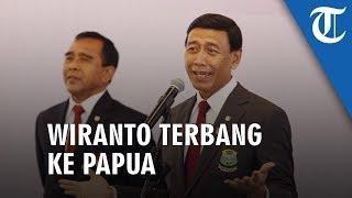 Wiranto Terbang ke Papua Mengobarkan Perdamaian dan Persatuan Bangsa