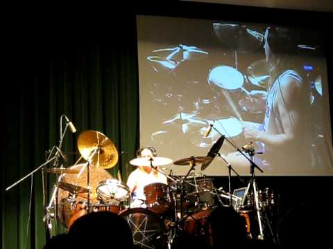 Danny Carey Playing Rosetta Stoned at a Drum Clinic – Kansas City, Missouri (September 2009)