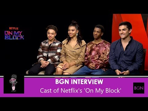 Video trailer för On My Block: Interview with the Cast