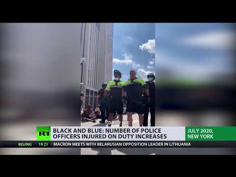 Heavy duty | Number of injured US police officers increases