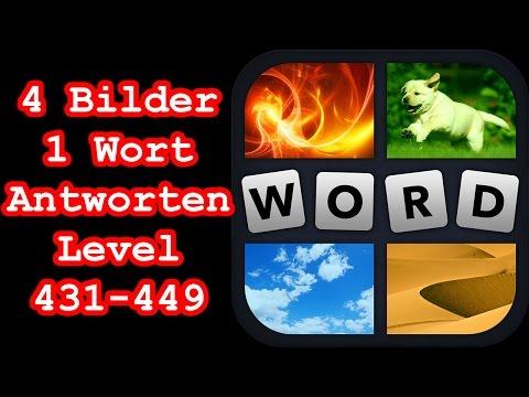 4 Bilder 1 Wort - Level 431-449 - Erreiche Level 450 - Lösungen Antworten