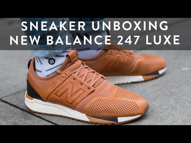 3c9d31937a71c New Balance 247 Luxe Sneaker Unboxing | Style Tips | On Feet | The New  Collections | llomotes 08:08 13,313