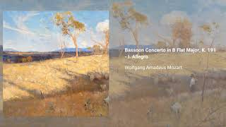 Bassoon Concerto in B-flat major, K. 191