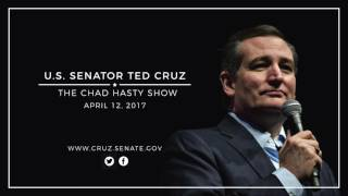 Sen. Cruz Discusses Syria & Obamacare on The Chad Hasty Show