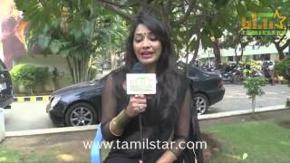 Kesha Khambhati at Aayirathil Iruvar Team Interview
