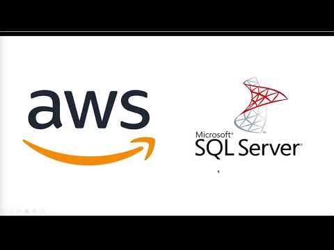 Install AWS RDS - Microsoft SQL Server