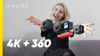 Insta360 ONE R Twin Edition Unboxing