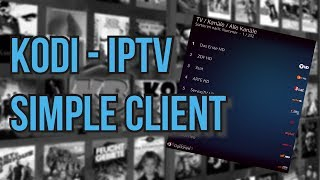 PVR IPTV SIMPLE CLIENT - IPTV in Kodi
