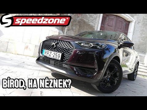 Speedzone teszt: DS3 Crossback: Bírod, ha néznek?