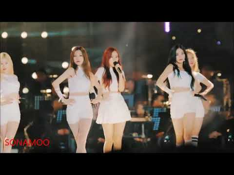 Top 10 famous female idol kpop fancam korean 18+ SONAMOO euijin nahyun sumin sexy girl dance