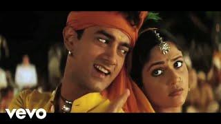 A.R. Rahman - Radha Kaise Na Jale Best Lyric Video|Lagaan
