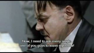 Hitler watches the new Key of Awesome video