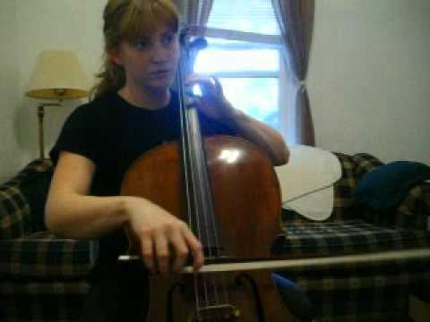 Bach Suite Allemande in C Major