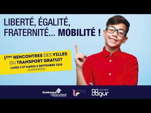 Rencontres des villes du transport gratuit à Dunkerque