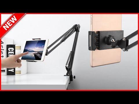 Gocomma Metal Long Clip Arm Mobile Phone Holder Bracket Mobile Phone Tablet Stands