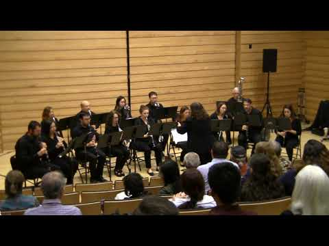 The Los Angeles Clarinet Choir playing Johannes Brahms's Serenade Op. 16 (mvts 1 and 5) arranged for clarinet choir by John Gibson.