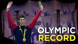 Michael Phelps broke a 2,168-year-old Olympic record | gold medal record | Rio Olympics 2016 thumbnail