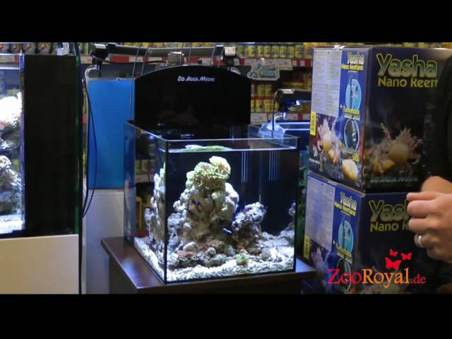 Aqua Medic Yasha Meerwasser Nano Aquarium Reeftank