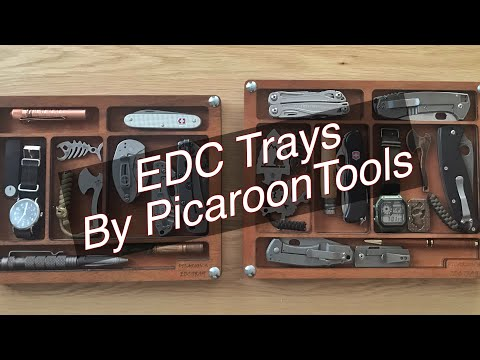 EDC Dump Tray by PicaroonTools - Valet Tray for all your edc rotation items