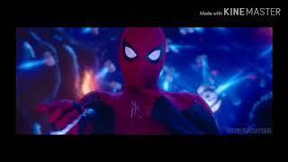 Человек паук в дали от дома - клип под песню skillet-falling inside the black.