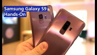 Samsung Galaxy S9 & S9 Plus Hands-On (deutsch HD)