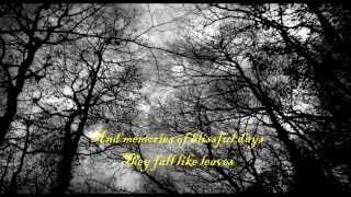 Insomnium-Lay of the autumn (Lyrics)