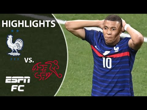 Switzerland ELIMINATES France! Euro 2020 favorite out on penalties!   Highlights   ESPN FC