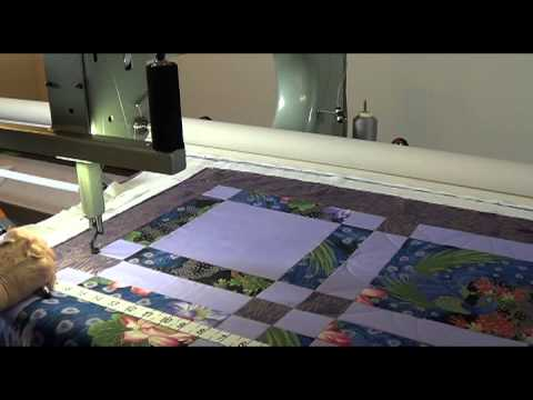Quiltmagine Pro - Quilting A Block from Quilt Layout