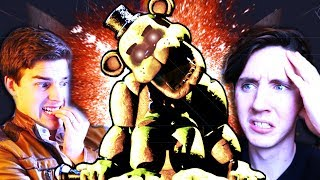 A DISCOVERY HAS BEEN MADE - GOLDEN FREDDY'S NAME!    Five Nights at Freddy's