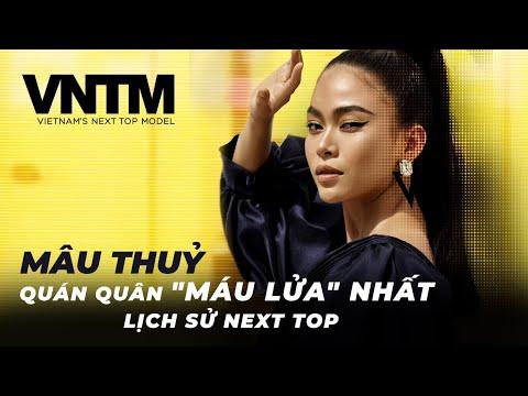 """MÂU THUỶ - QUÁN QUÂN """"MÁU LỬA"""" NHẤT LỊCH SỬ VIETNAM'S NEXT TOP MODEL"""