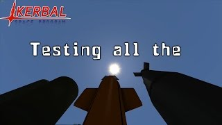 KSP - BDarmory - Testing all the addon bombs - [P.E.W/NKW]