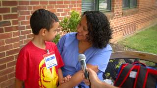 MCPS First Day Of School 2015 - 2016
