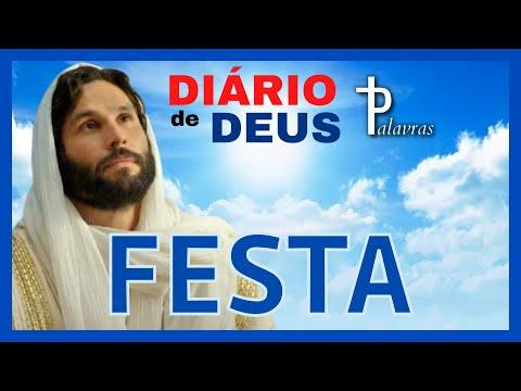 Orao do dia   Dirio de Deus   Palavras   Festa