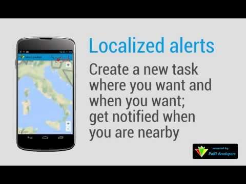 Video of GeoTask - Location-Based Tasks